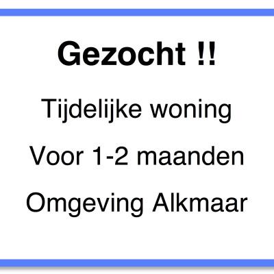 Rosa zoekt een Huurwoning / Appartement in Alkmaar